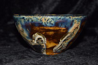 céramique bol japonais grès noir