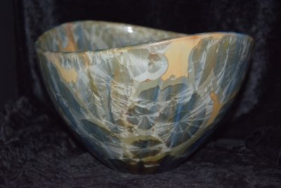 Saladier design porcelaine