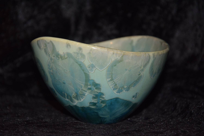 bol porcelaine design vert d'eau