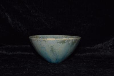Petit bol japonais porcelaine vert turquoise