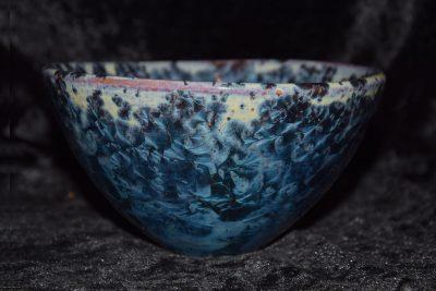bol en grès artisanal style japonais