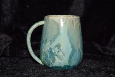 grande tasse porcelaine vert-eau