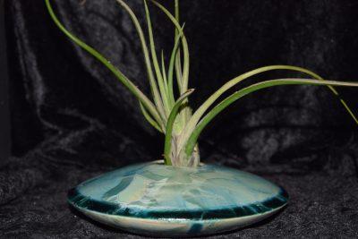 petit vase vert turquoise porcelaine