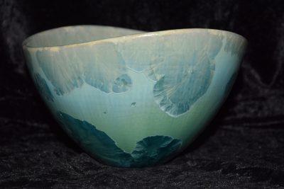 petit saladier en porcelaine design turquoise