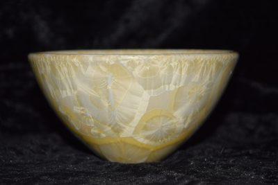 bol porcelaine hauteur 7cm jaune-soleil