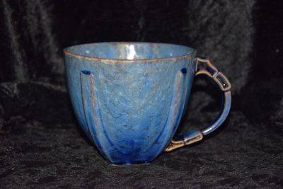 bol avec anse bleu