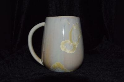 Grande tasse porcelaine beige 45 cl