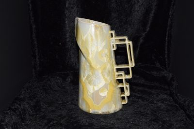 Carafe en porcelaine 600 ml jaune-soleil