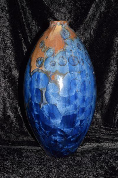 Grand vase en porcelaine - céramique artisanale