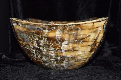 Saladier en grès céramique artisanale