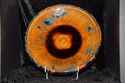 Coupe à fruits en porcelaine diamètre 32 cm