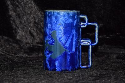 Mug en porcelaine bleu-nuit