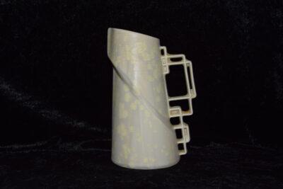 Carafe en porcelaine 600 ml blanc mat