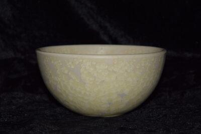 Grand bol en porcelaine blanc mat