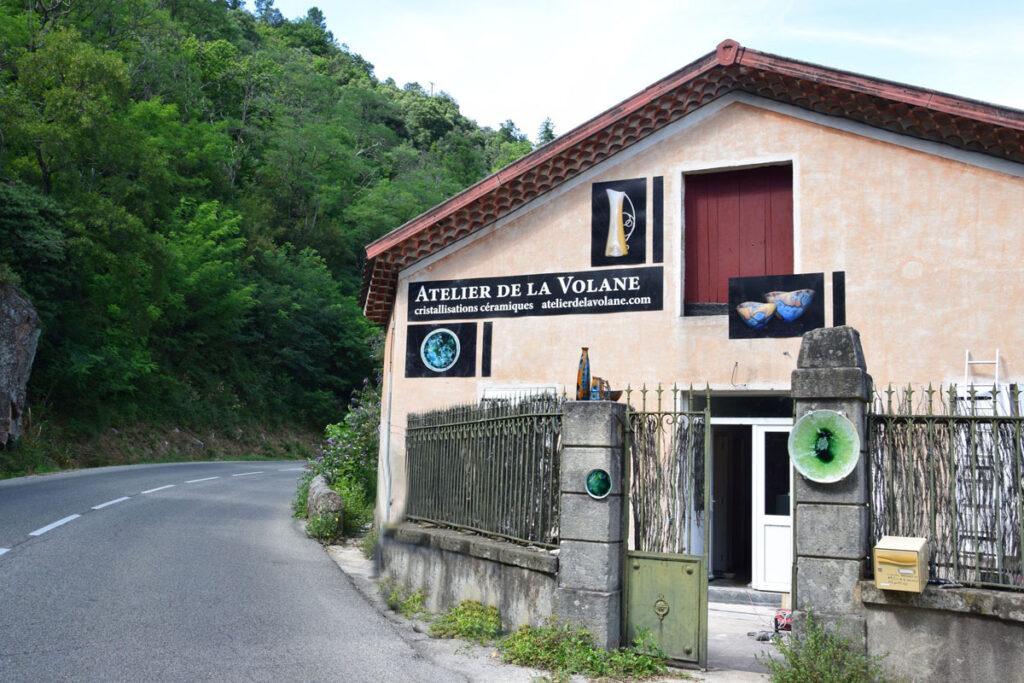 façade Atelier de la Volane