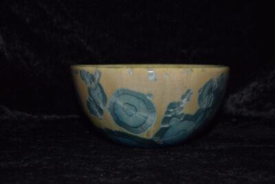Bol grande contenance artisanal en porcelaine