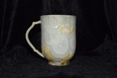 Grande tasse en porcelaine 35cl jaune soleil