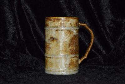 Mug artisanal en grès 25cl roux