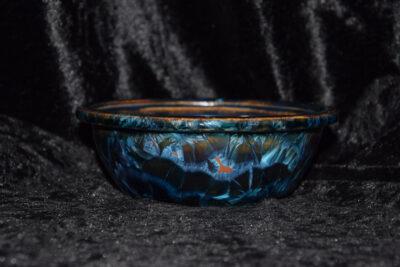 Pot à bonsaï rond 15 cm porcelaine