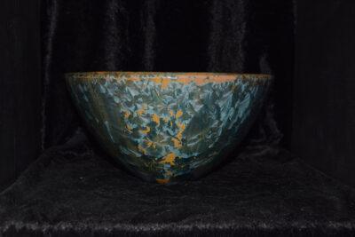 Saladier artisanal en céramique grès hauteur 12 cm