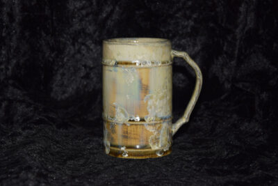 Mug artisanal en grès 25cl jaune de Naples